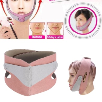 1PC Face Slimming Mask Chin Support Facial Thin Lifting Belt Anti Snoring Band Strap - intl