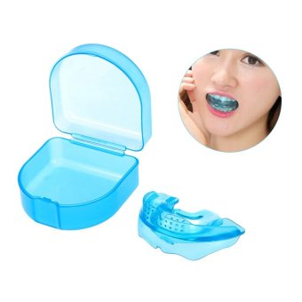 1Pc Orthodontic Trainer Teeth Alignment Straight Teeth System Adult Mouthpieces Brace Dental Tray Mouthguard With Box - intl - 5