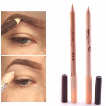 2 in 1 Eyeliner Eyebrow Pencil Contour Concealer Pencil