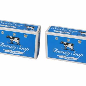2 pcs. Cow Beauty Soap (Blue) Price Philippines