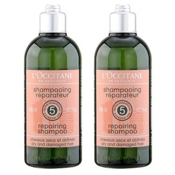 2 x L'Occitane Repairing Shampoo (Dry and Damaged Hair) 10.1oz, 300ml - intl