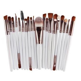 20PC Cosmetic Makeup Sets Brush Lip Makeup Brush Eyeshadow Brushkit -white