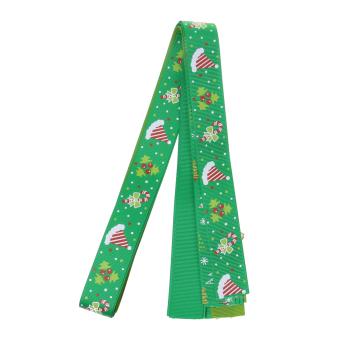 26pcs/Set Christmas Grosgrain Ribbon for Gift Wrapping/Hair Bow DIY - intl - 5