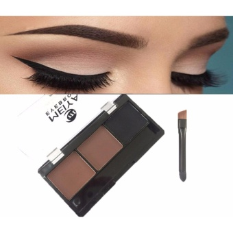 3 Colors Perfect Brow Eyebrow Makeup Palette #03 5.9g