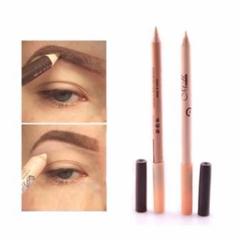 3 Pcs. 2 in 1 Eyeliner Eyebrow Pencil Contour Concealer Pencil - 2