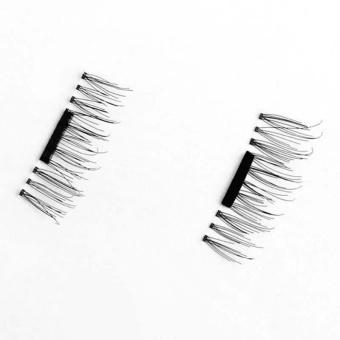 4 Pairs 3D Magnetic False Eyelashes Natural Soft False Eye Lashes - intl - 5