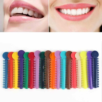 40Pcs Dental Orthodontic Materials Ligature Ties Plastic Band Elastic Teeth Tool - intl