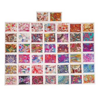 44pcs Nail Sticker Flower Water Decals Transfer Foil Floral Design Nail Art - intl