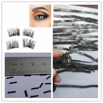 50Pcs Reusable-Magnet-Sheet-For-3D-Magnetic-False-Eyelashes-Extension-Handmade - intl