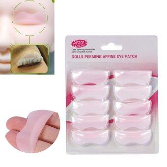 5Pairs/Set Silicone Perming Lifting 3D Eyelash Curler Shield Pad Makeup Tool - intl - 5