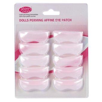 5Pairs/Set Silicone Perming Lifting 3D Eyelash Curler Shield Pad Makeup Tool - intl - 4
