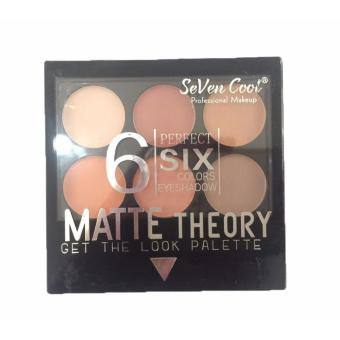 6 Perfect Colors Matte Theory Eyeshadow Eye Shadow Makeup Palette#03 12g - 2