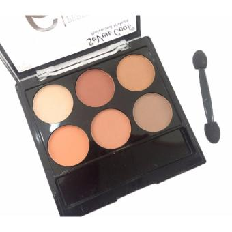 6 Perfect Colors Matte Theory Eyeshadow Eye Shadow Makeup Palette#03 12g - 3