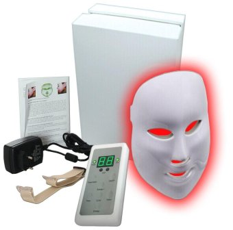 7 Color LED Mask Photon Light Skin Rejuvenation Therapy Facial MaskPhoton Photodynamics Beauty Facial Peels Machine Skin Care - intl