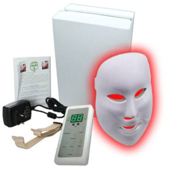 7 Colors LED Photon Facial Mask Skin Care Anti-Aging Therapy Photodynamics PDT - Intl