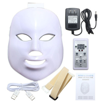 7 Colors Light Photon LED Facial Mask Skin Rejuvenation Beauty Therapy