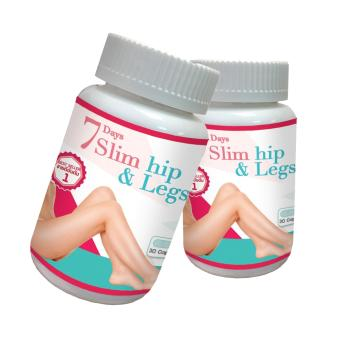 7 Days Slim Hip & Legs Weight loss supplements (30 Capsule)Pack of 2