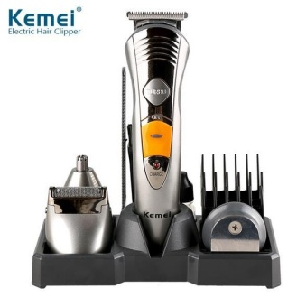 7 in 1 Waterproof Electric Hair Clipper Hair Trimmer Shaver BeardFor Men Waterproof Family Haircut Tool - intl