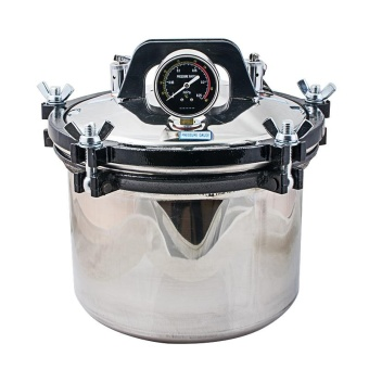 8L Portable Steam Autoclave Sterilizer 304 Stainless Steel DualScale Self Inflating 0.145-0.165Mpa 126? -128? Dental Equipment220V - intl Price Philippines