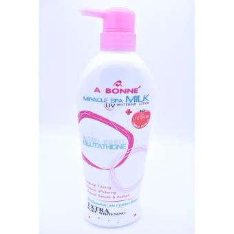 A Bonne Miracle Spa Milk UV Whitening Lotion with Lycopene NanoWhite Glutathione 500ml