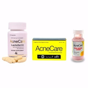 Acne Care Value Set with Capsules, Soap and Drying Lotion Price Philippines