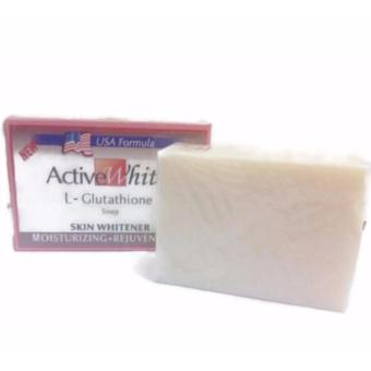 Active White Glutathione Skin Whitening Soap 135g - 2