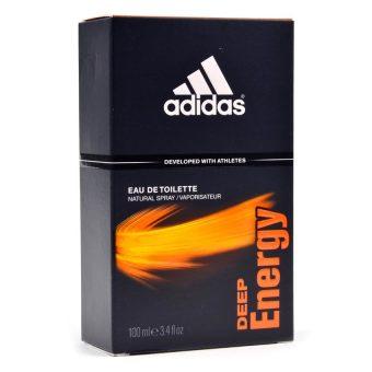 Adidas Deep Energy Eau De Toilette For Men 100ml - 2