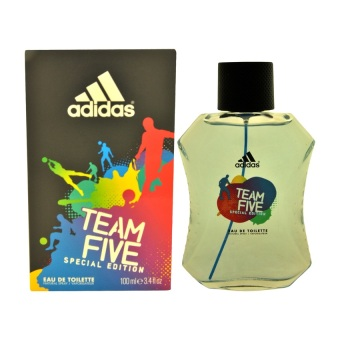 Adidas Team Five Special Edition Eau De Toilette for Men 100ml