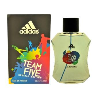 Adidas Team Five Special Edition Eau De Toilette for Men 100ml