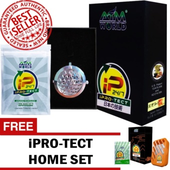Aim Global Iprotect / Ipro-tect 24/7 SILVER EDITION Pendant and Packet with FREE Aim Global iPROTECT Home Set
