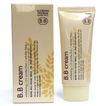 Alfredo Feemas B.B Cream Whitening/ UV Protection/ Wrinkle FreeSPF40/PA++ 50ml Korean Cosmetics