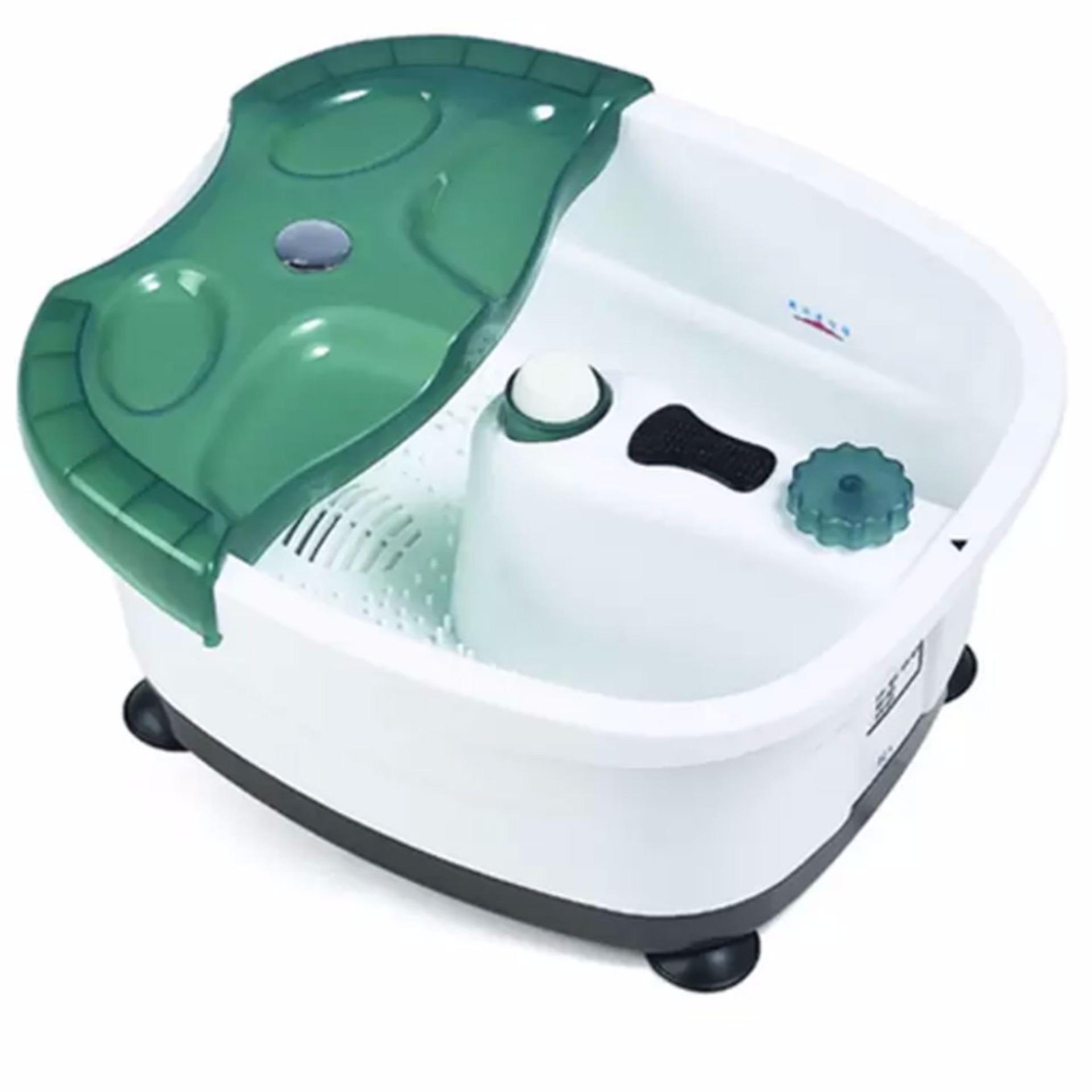 All-in-One Foot Spa Bath Massager (Green) | Lazada PH