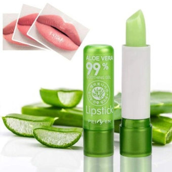 Aloe Vera Lip Gloss Long Lasting Moisturizing Lipstick Lip balm Portable - intl