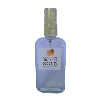 Angel's Breath Gold Body Cologne
