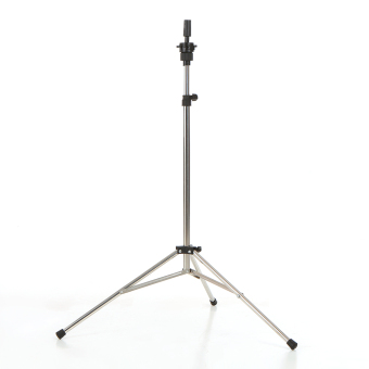 ANSELF Adjustable Wig Head Stand Tripod Holder Mannequin Head Tripod Stainless Steel Hairdressing Tripod Stand Manikin Tripod Stand - intl