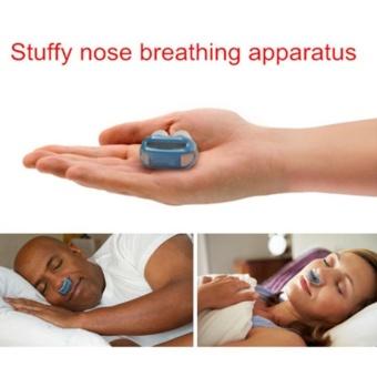 Anti Snoring Nasal Mask Auto CPAP Air Purifier BreathebleVentilator Nose Apparatus Nose Clip Sleeping Snoring Insomnia NoiseStopper Aid (Color Random) - intl - 4