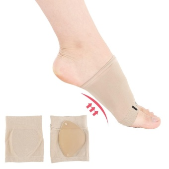 Arch Support Sleeve Cushion Plantar Fasciitis Foot Pain Heel InsoleOrthotic - intl