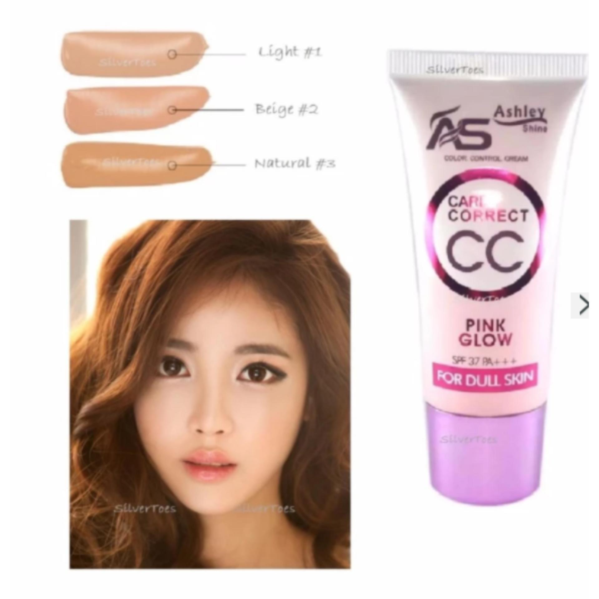 Ashley Shine Care & Correct CC Cream Pink Glow NATURAL #03