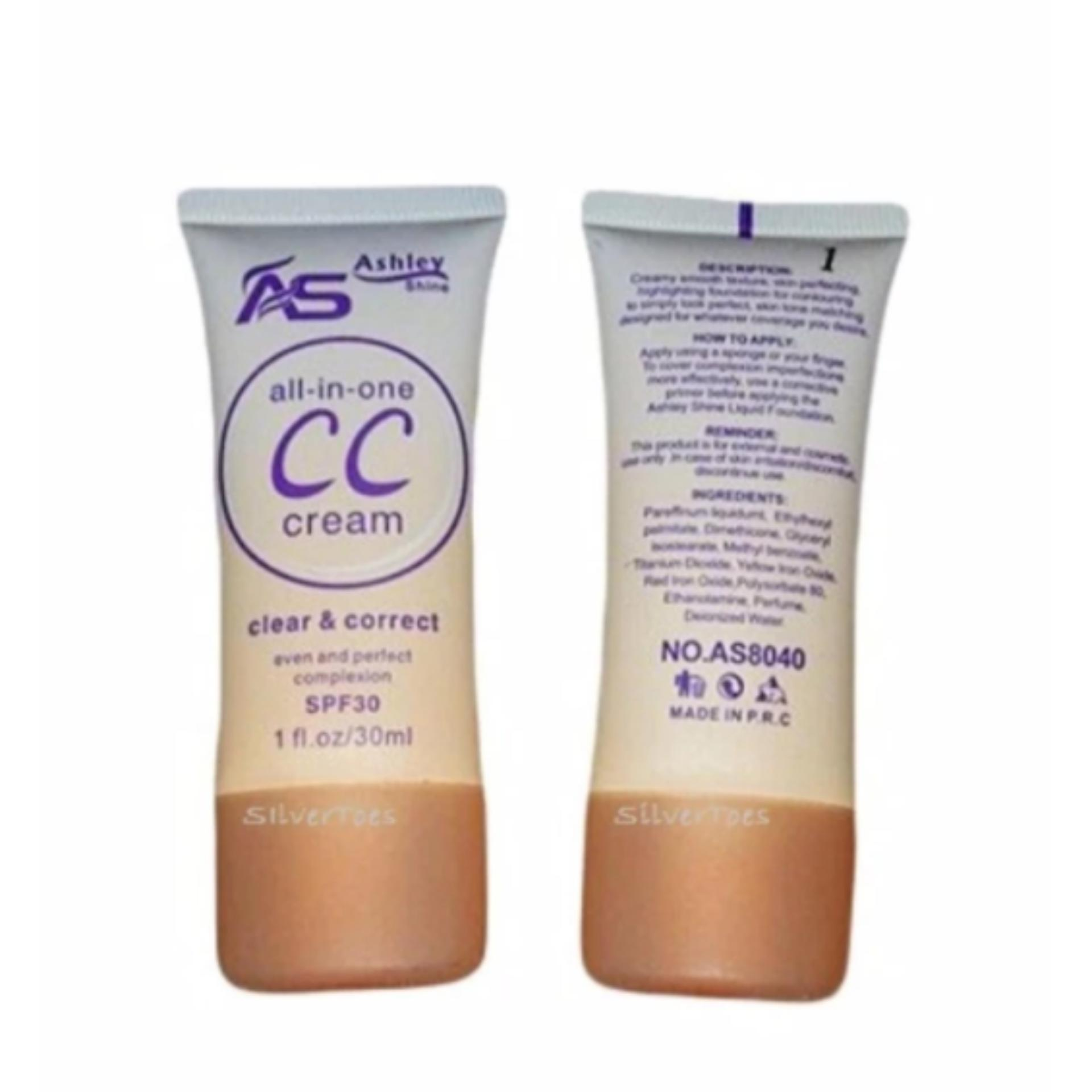 Ashley Shine CC Cream All-In-One NATURAL Shade#3
