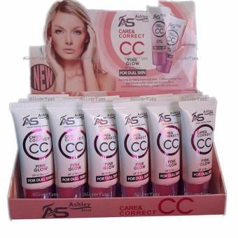 Ashley Shine CC Cream Pink Glow NATURAL Shade #3 SPF37 Matte FinishBB CC Cream Liquid Foundation Single - 2