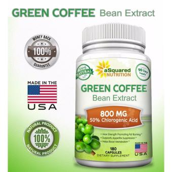 aSquared Nutrition 100% Pure Green Coffee Bean Extract, 180capsules, 90-day Supply - 3