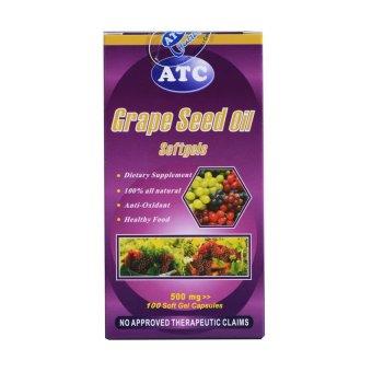 ATC Grape Seed 500mg Soft Gels 100's