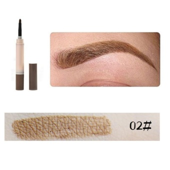 Aukey new style-Eye brow Eyebrow pen Eyeliner Pencil Long lasting Waterproof Eyebrow Set Makeup - intl