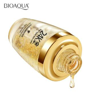 Authentic BioAqua 24k GOLD Face Serum with Hyaluronic acid andCollagen for Anti-aging 30ml - 3