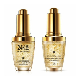 Authentic BioAqua 24k GOLD Face Serum with Hyaluronic acid andCollagen for Anti-aging 30ml - 2