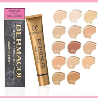 Authentic Dermacol Make-Up Cover Foundation Shades No.223 - 3