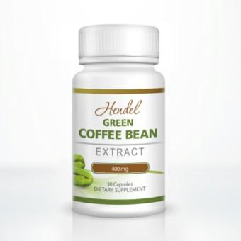 Authentic Green Coffee Bean Extract Capsules 400mg