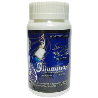 Authentic Illuminax Reduced Glutathione 1000mg Capsules Bottle of 60