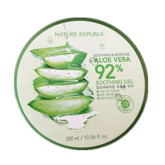 Authentic Nature Republic Soothing and Moisturizing Aloe Vera 92% Soothing Gel 300ml