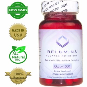 AUTHENTIC Relumins Advance Nutrition Gluta 1000 ReducedL-Glutathione 30 Capsules, Bottle of 1 Price Philippines